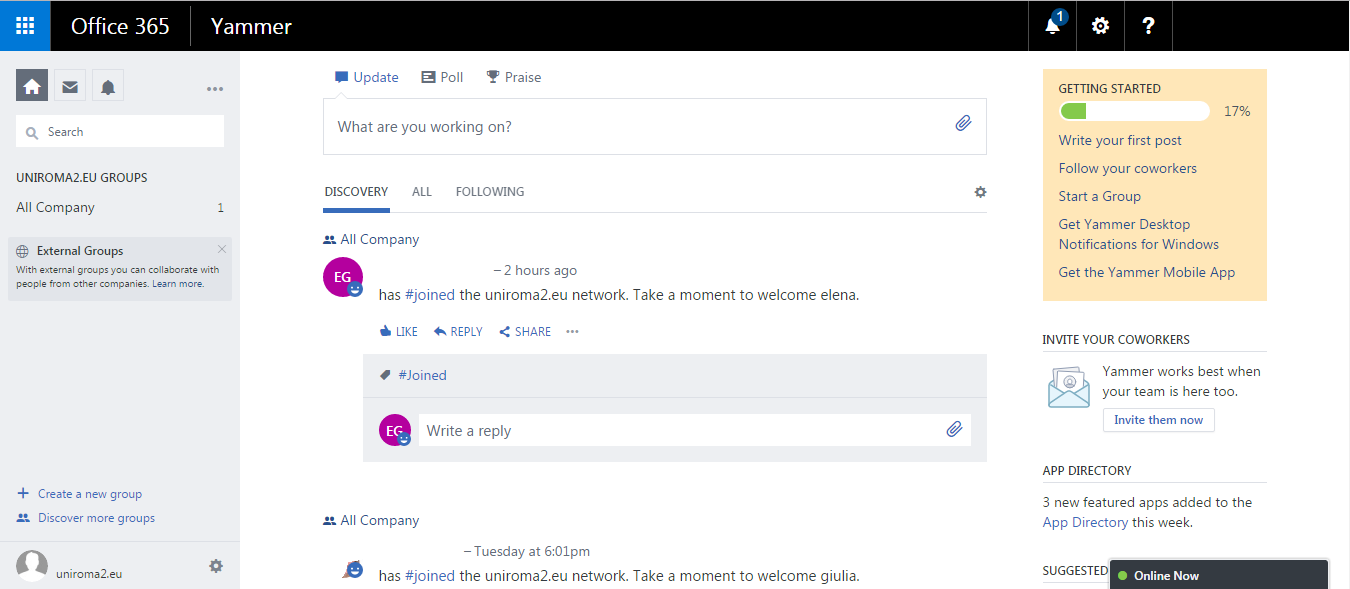Yammer 2 modificata